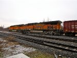 BNSF 6750 and 6304